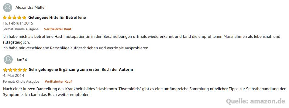 Bewertungen zum eBook Besser leben mit der Diagnose Hashimoto-Thyreoiditis